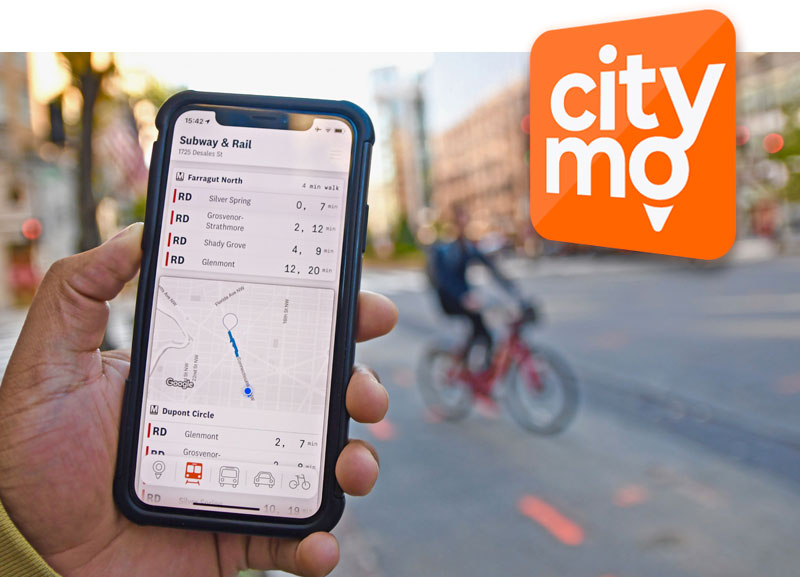Tap to download CityMotion App